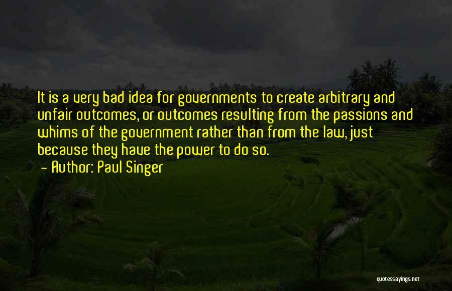 Paul Singer Quotes 1604314