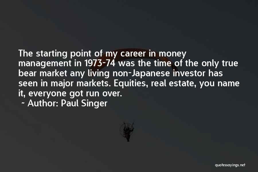 Paul Singer Quotes 1624441