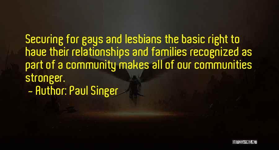 Paul Singer Quotes 1934356