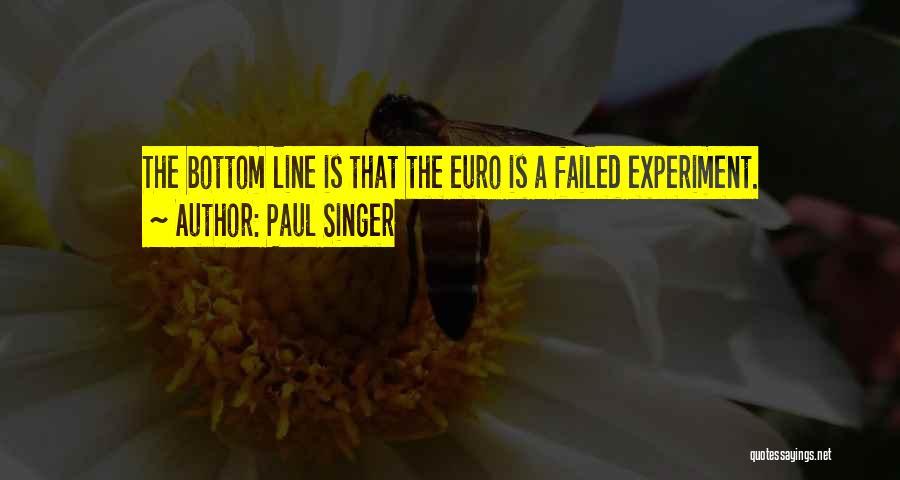 Paul Singer Quotes 561600