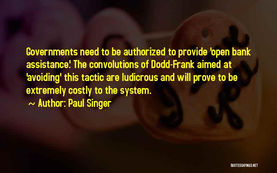 Paul Singer Quotes 625412