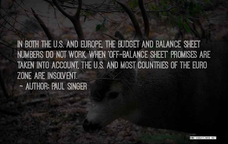 Paul Singer Quotes 722075
