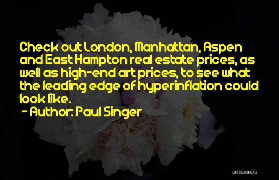 Paul Singer Quotes 760582