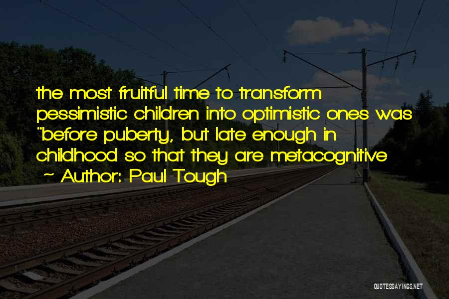 Paul Tough Quotes 970580