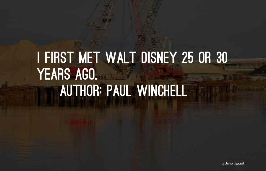 Paul Winchell Quotes 1043797