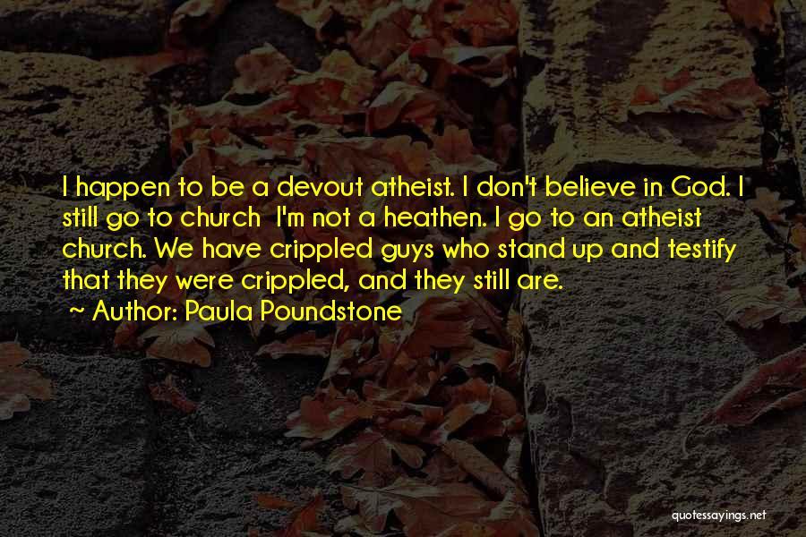 Paula Poundstone Quotes 1933767
