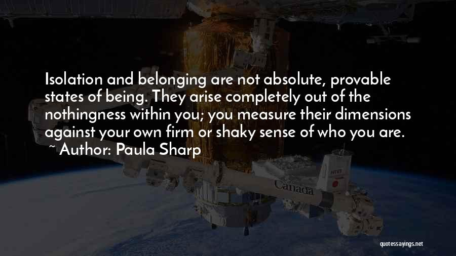 Paula Sharp Quotes 910567