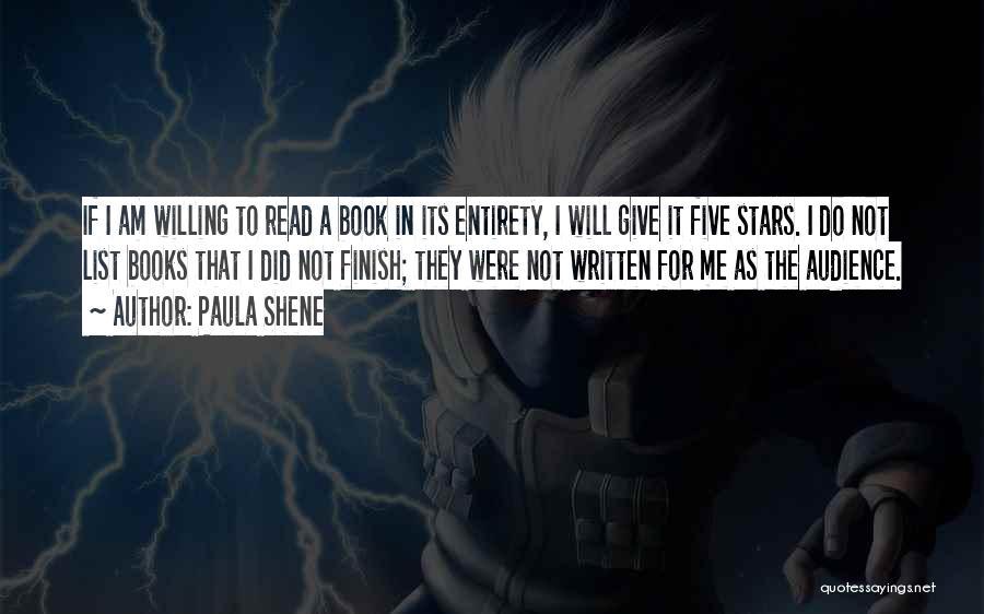 Paula Shene Quotes 348646