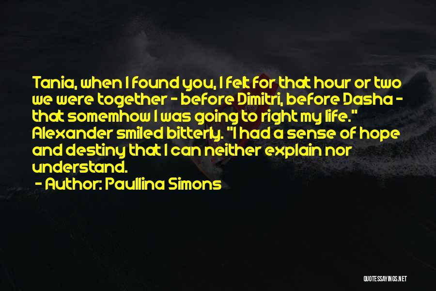 Paullina Simons Quotes 1787967