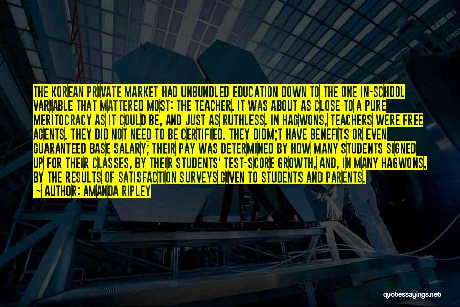 Pay And Benefits Quotes By Amanda Ripley