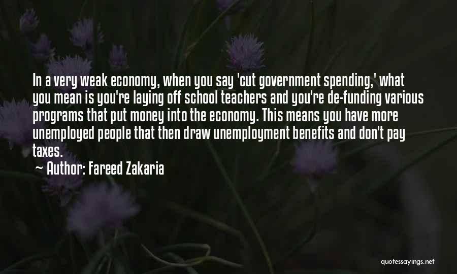 Pay And Benefits Quotes By Fareed Zakaria