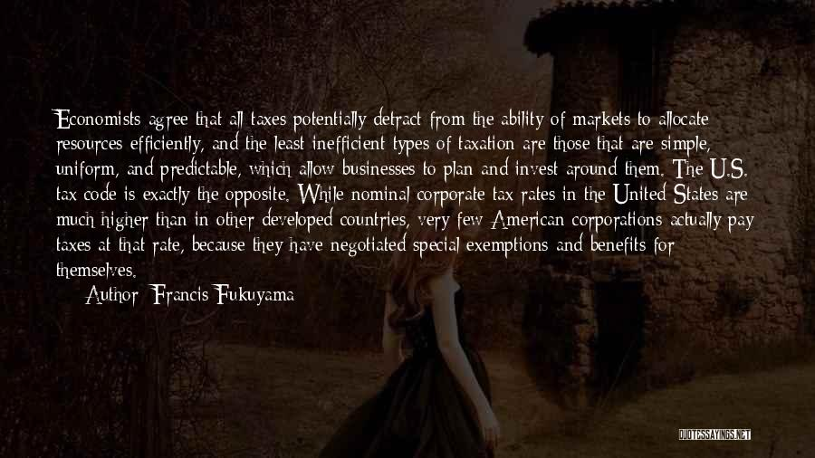 Pay And Benefits Quotes By Francis Fukuyama