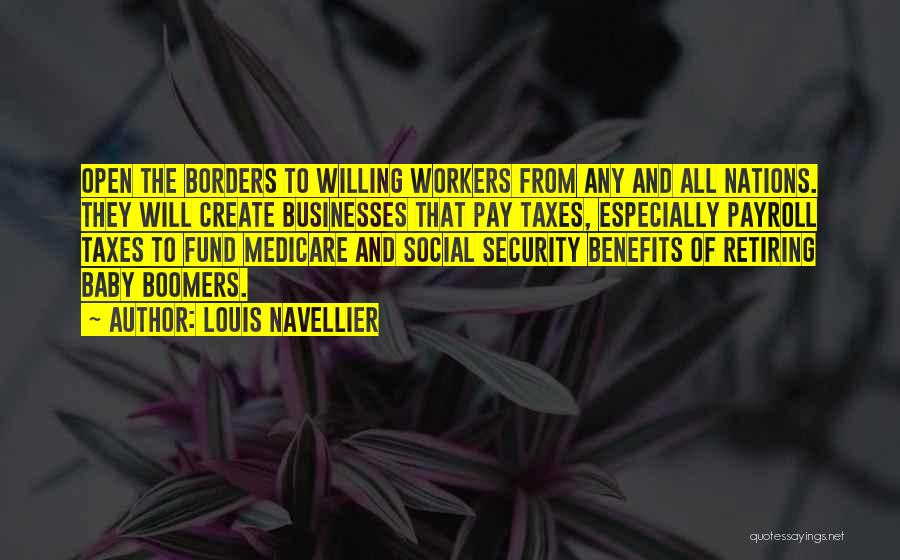 Pay And Benefits Quotes By Louis Navellier