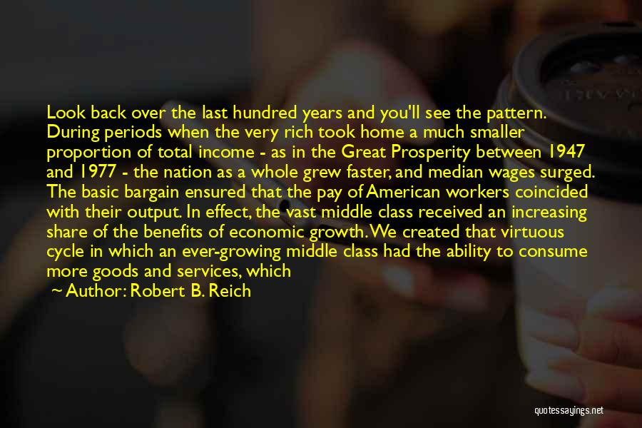 Pay And Benefits Quotes By Robert B. Reich
