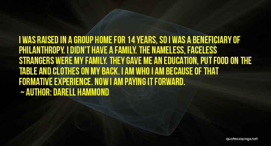 Paying Someone Back Quotes By Darell Hammond