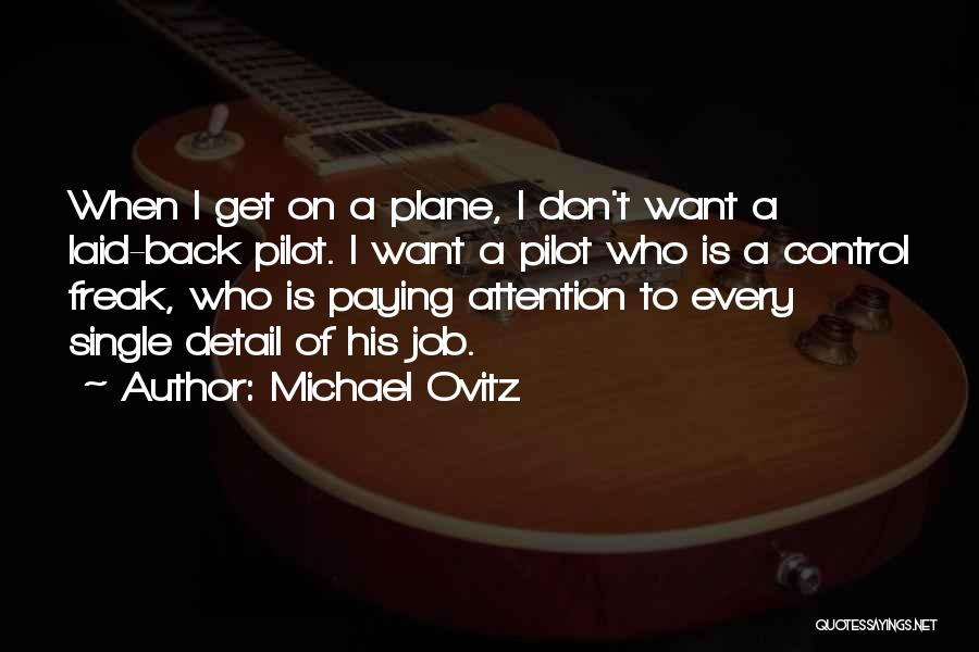 Paying Someone Back Quotes By Michael Ovitz