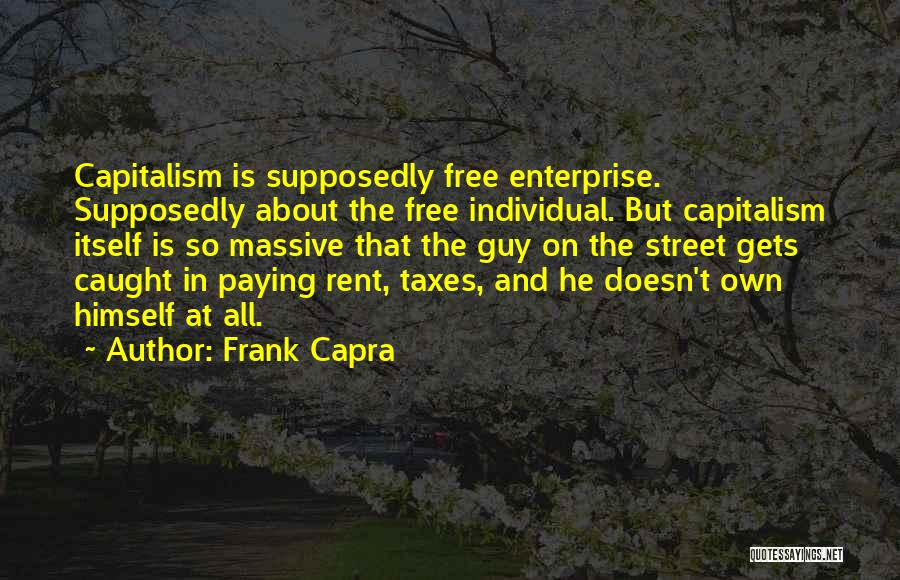 Paying Your Taxes Quotes By Frank Capra
