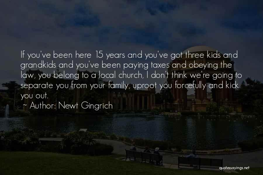 Paying Your Taxes Quotes By Newt Gingrich