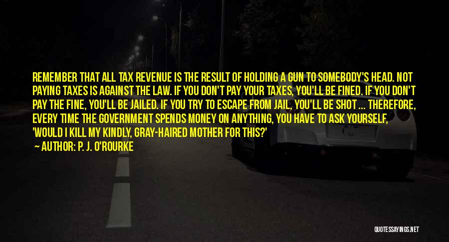 Paying Your Taxes Quotes By P. J. O'Rourke