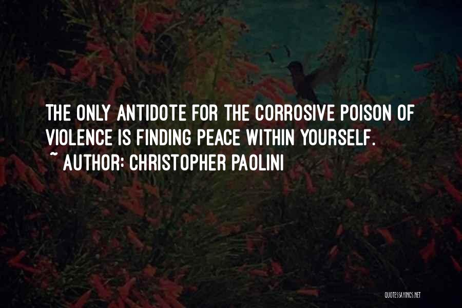 Peace Finding Quotes By Christopher Paolini