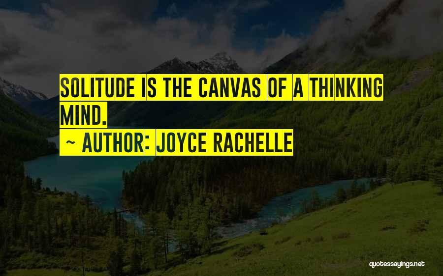 Peace Finding Quotes By Joyce Rachelle