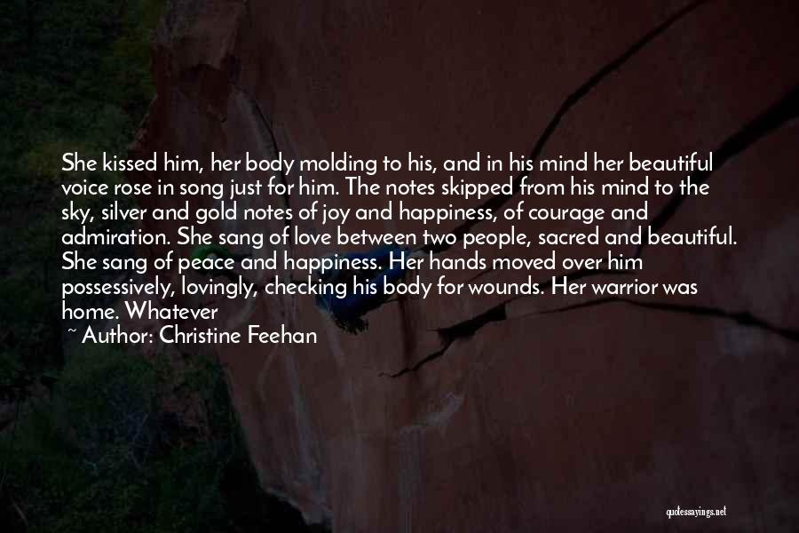 Peace Of Mind And Body Quotes By Christine Feehan