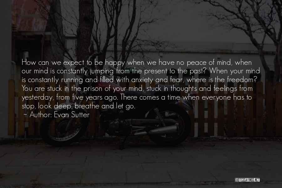 Peace Of Mind And Body Quotes By Evan Sutter