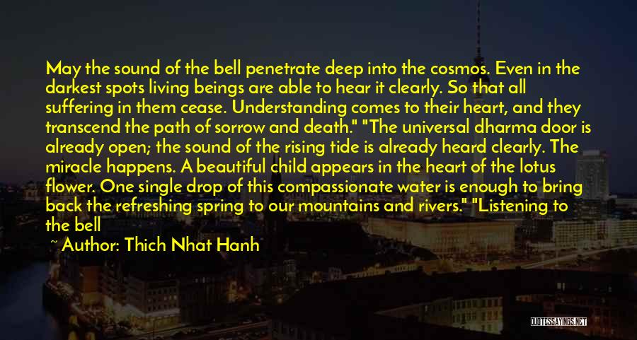 Peace Of Mind And Body Quotes By Thich Nhat Hanh