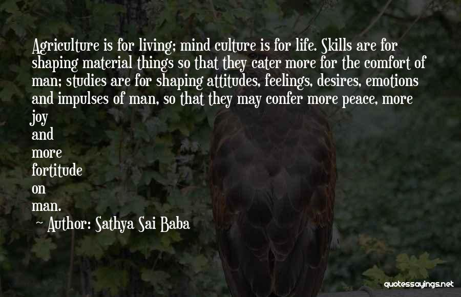 Peace Of Mind And Comfort Quotes By Sathya Sai Baba