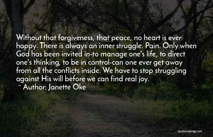 Peace To All Quotes By Janette Oke