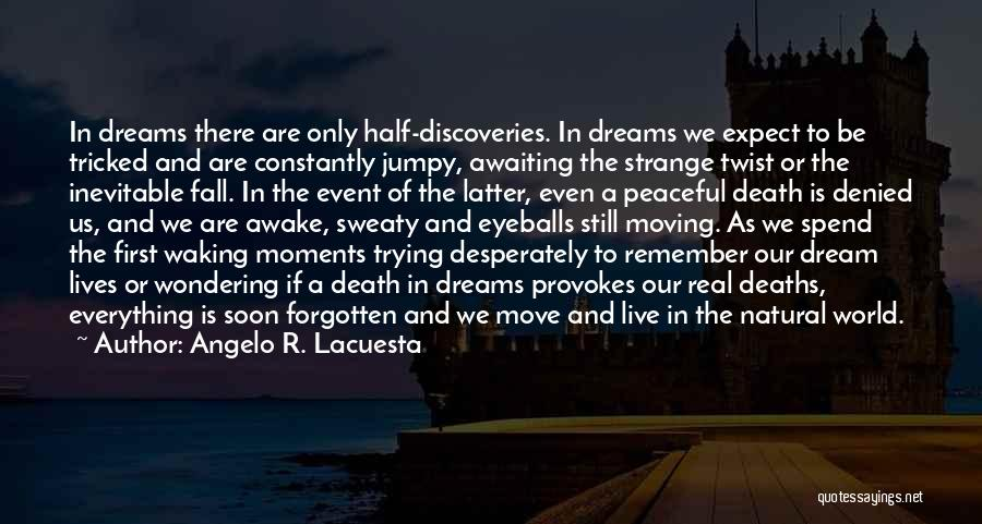 Peaceful Moments Quotes By Angelo R. Lacuesta