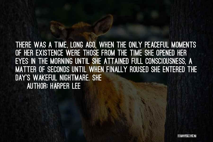 Peaceful Moments Quotes By Harper Lee