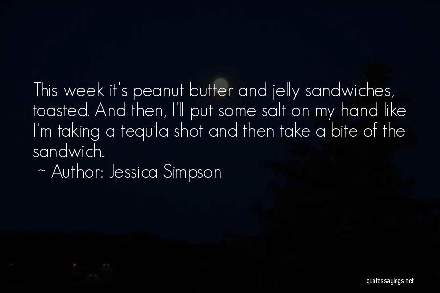 Top 7 Quotes Sayings About Peanut Butter And Jelly Sandwiches