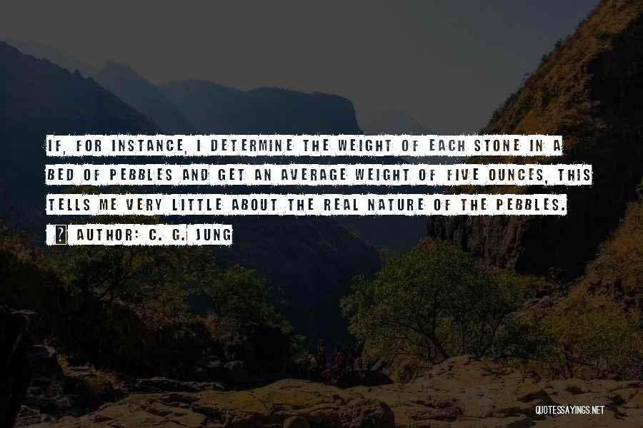 Pebbles Stone Quotes By C. G. Jung
