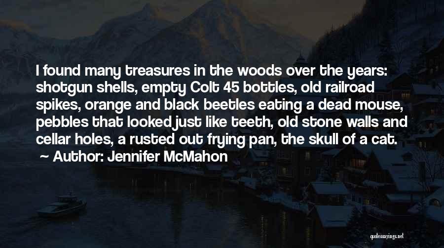 Pebbles Stone Quotes By Jennifer McMahon