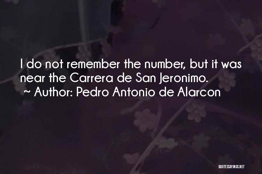 Pedro Antonio De Alarcon Quotes 333902