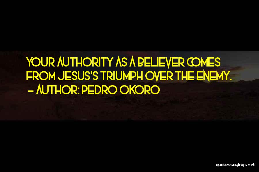 Pedro Okoro Quotes 1104035