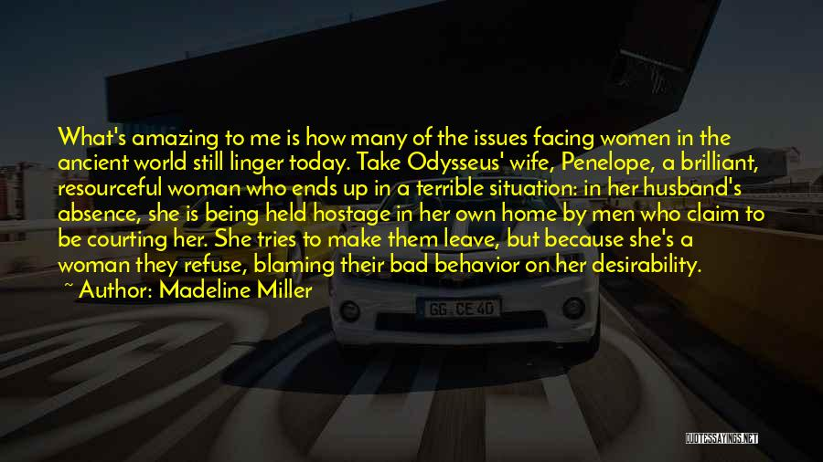 Penelope And Odysseus Quotes By Madeline Miller
