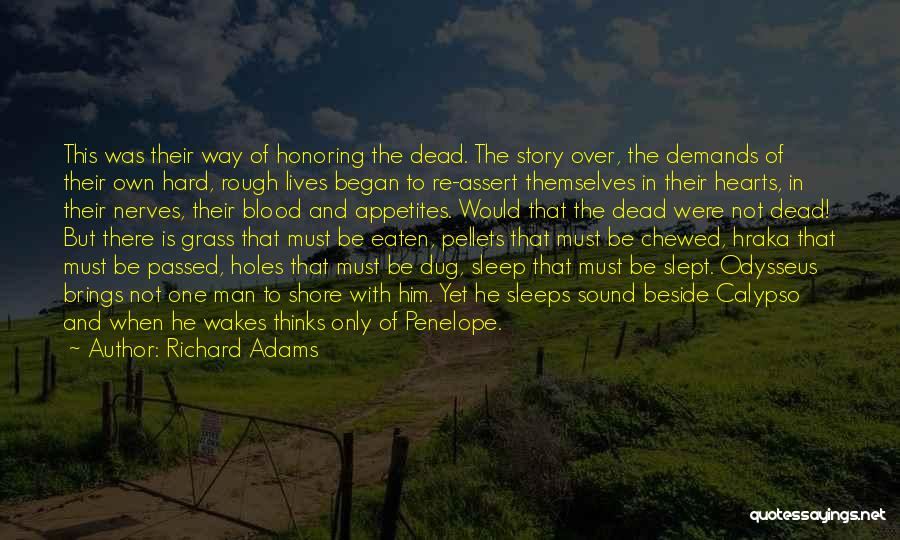 Penelope And Odysseus Quotes By Richard Adams