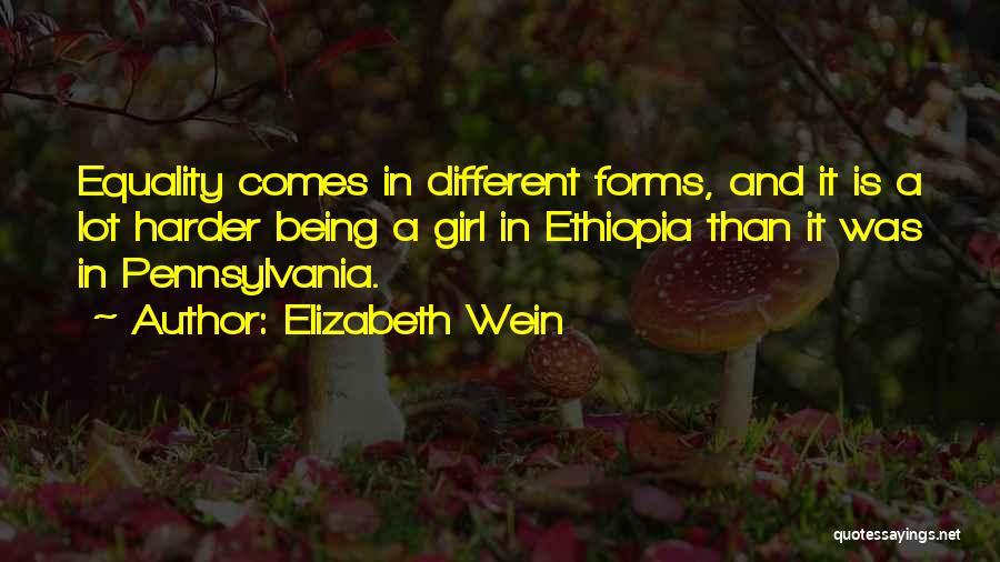 Pennsylvania Girl Quotes By Elizabeth Wein