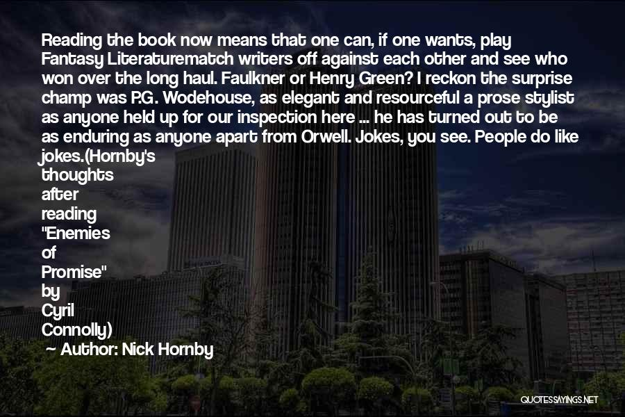 People's Champ Quotes By Nick Hornby