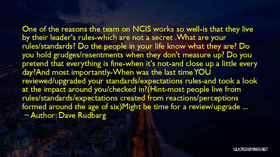 People's Expectations Quotes By Dave Rudbarg