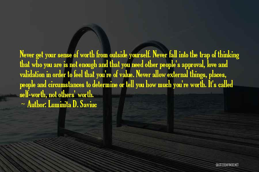 People's Expectations Quotes By Luminita D. Saviuc