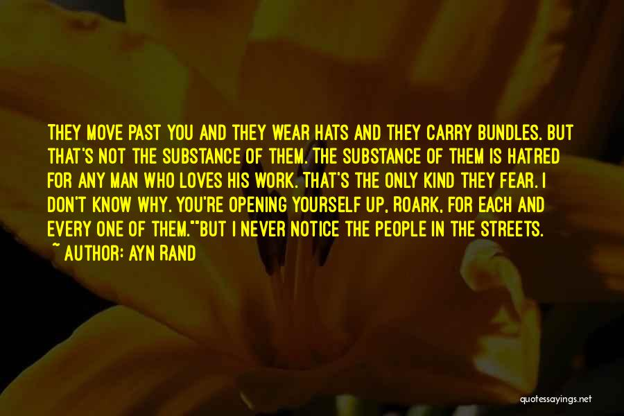 People's Past Quotes By Ayn Rand
