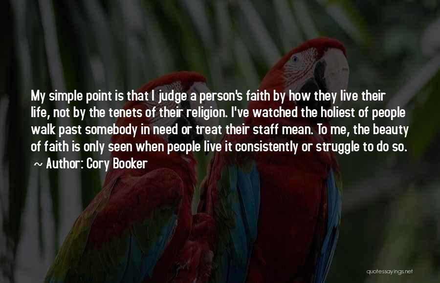 People's Past Quotes By Cory Booker