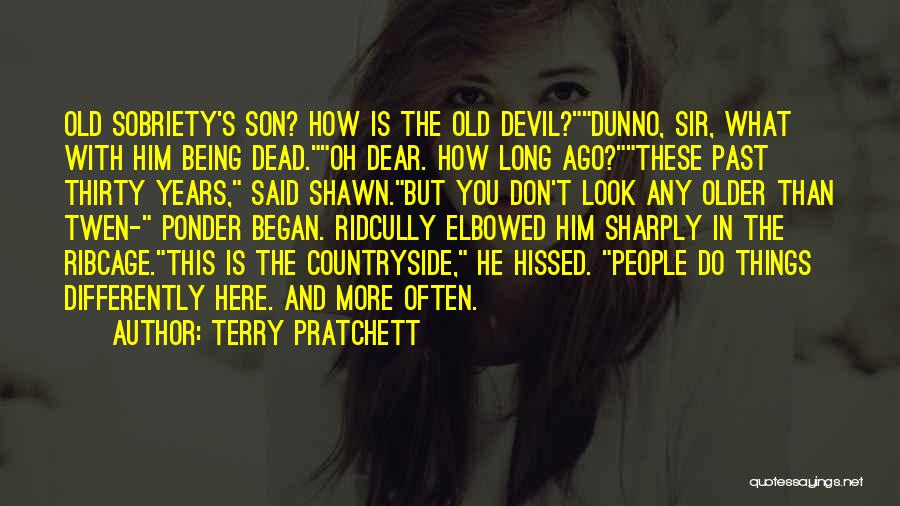 People's Past Quotes By Terry Pratchett