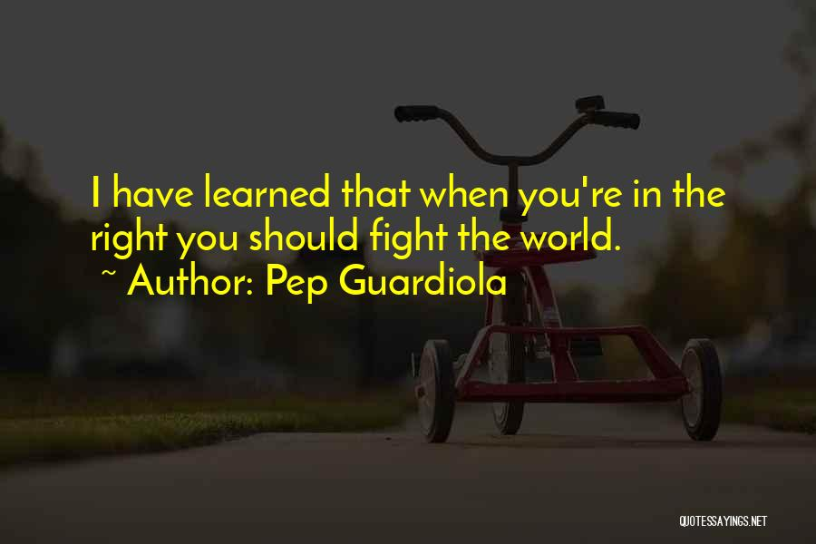 Pep Guardiola Quotes 2230307