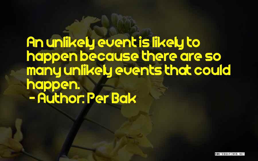 Per Bak Quotes 2207780