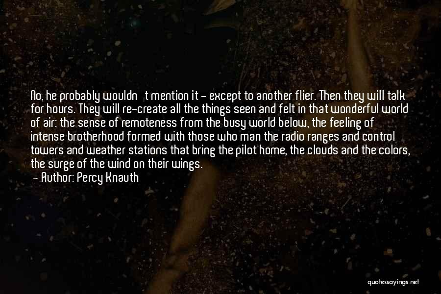 Percy Knauth Quotes 135615