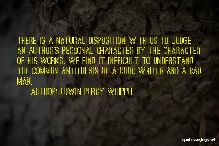 Percy Quotes By Edwin Percy Whipple